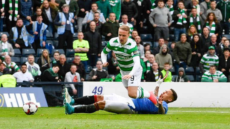 Rangers must stop Celtic 'runaway train', insists McLeish