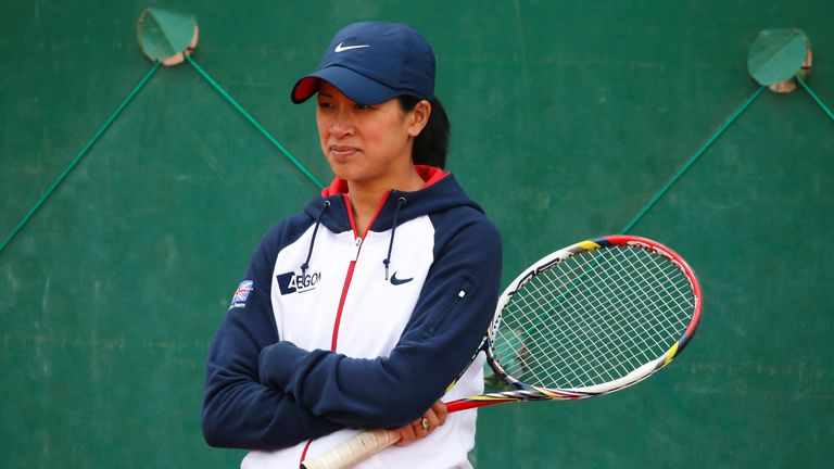 Anne Keothavong captains Great Britain in Romania