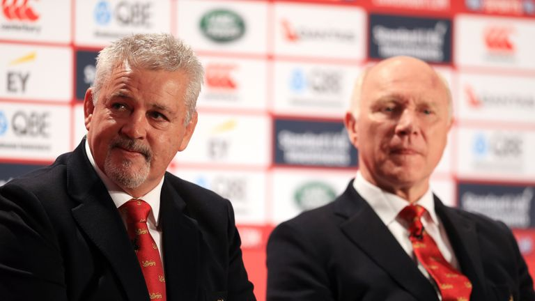 Warren Gatland's style of play has been called into question by England boss Eddie Jones