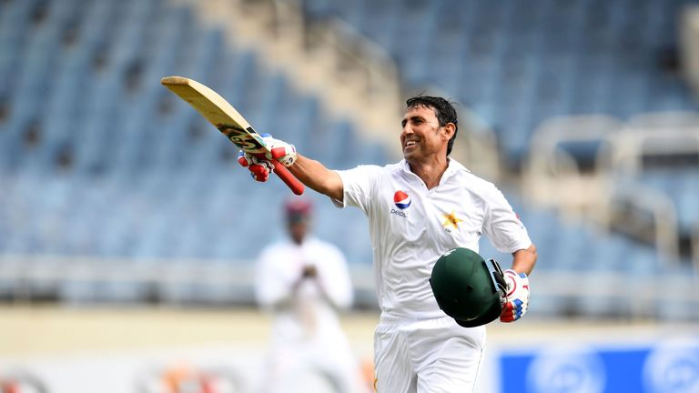 Younus reached 10,000 Test runs for Pakistan during first Test against West Indies