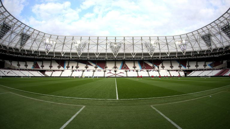 The London Stadium, home of West Ham United