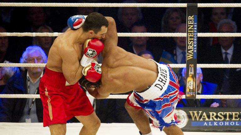 Haye regrets focusing on pre-fight hype against Klitschko