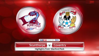 Scunthorpe 3-1 Coventry