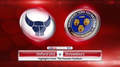 Oxford 2-0 Shrewsbury