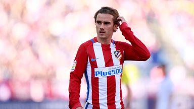 Antoine Griezmann has yet to take a decision on his future