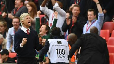 Arsene Wenger has won the FA Cup six times with Arsenal