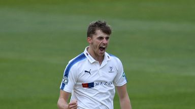 Ben Coad claimed match figures of 10-130 as Yorkshire beat Nottinghamshire at Headingley
