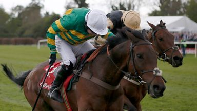 Noel Fehily riding Unowhatimeanharry to victory