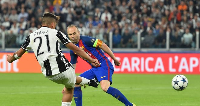 Paulo Dybala helps Juventus wrap up confident 3-0 win vs. Barcelona