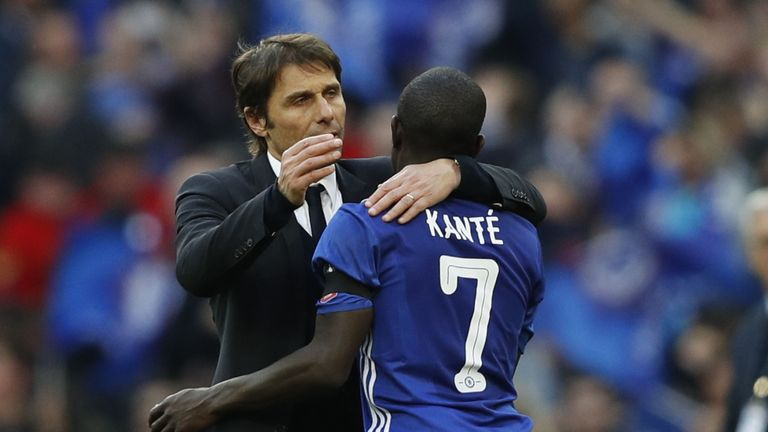 N'Golo Kante has been vital for Antonio Conte's Chelsea side