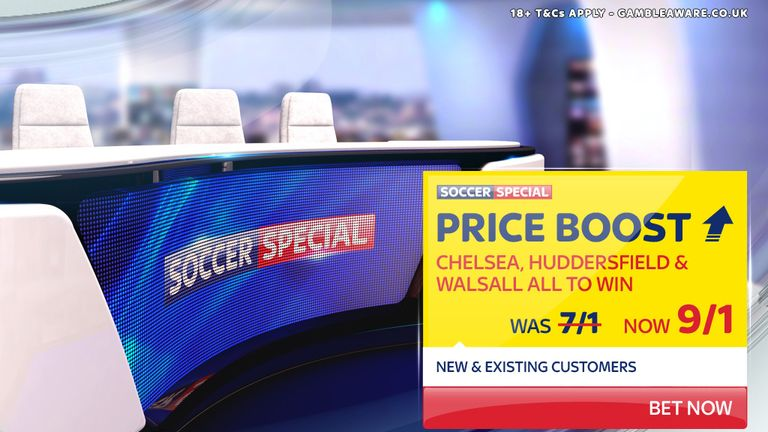 Sky Bet's Soccer Special Price Boost for April 25