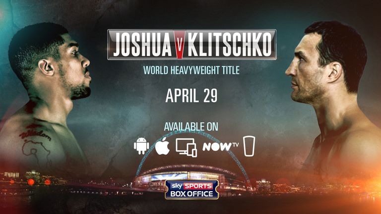 Ways to Watch Joshus vs Klitschko - Pubfinder