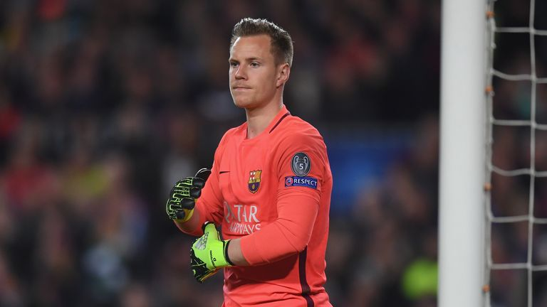 Barcelona to keep goalkeeper Ter Stegen until 2022
