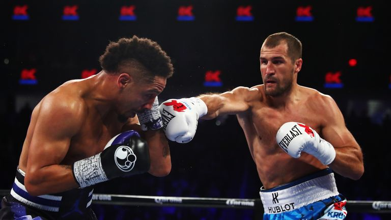 Sergey Kovalev has secured 26 of his 31 wins by stoppage