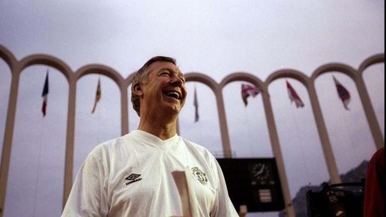 Sir Alex Ferguson won the UEFA Super Cup in 1991