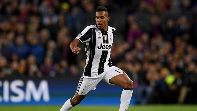 Juventus left-back Alex Sandro has been linked with a move to Chelsea this summer