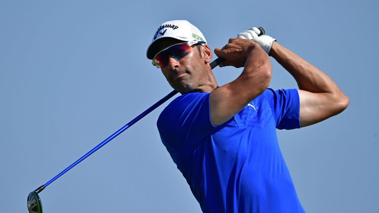 Alvaro Quiros holds a two-shot lead at the halfway stage