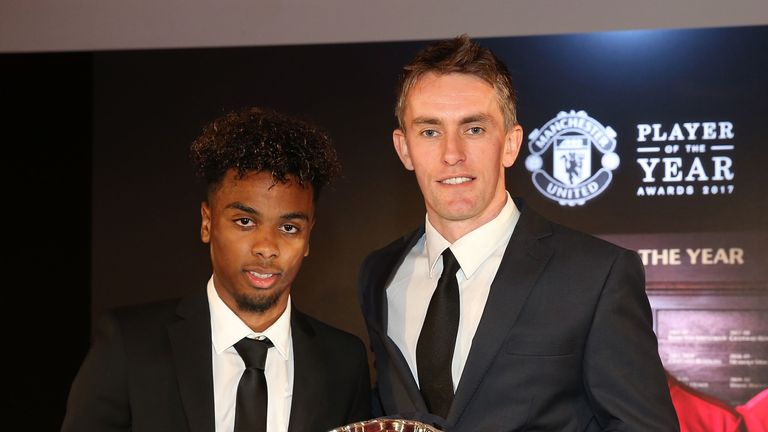 Gomes won the Man Utd Youth Team Player of the Year award