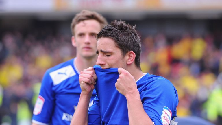 Anthony Knockaert was left in tears after the play-off semi-final defeat in 2013