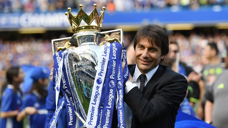 Antonio Conte is preparing for his second season in charge of Chelsea