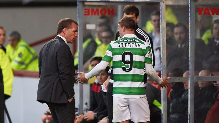 Brendan Rodgers says Leigh Griffiths is very much part of his plans at Celtic