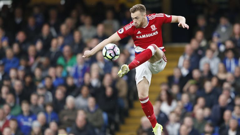 Calum Chambers spent last season on loan at relegated Middlesbrough