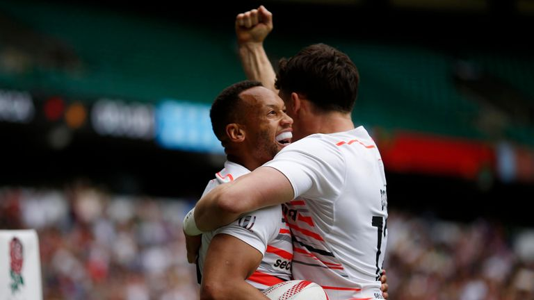 Dan Norton scored a sensational solo try in the final against Scotland