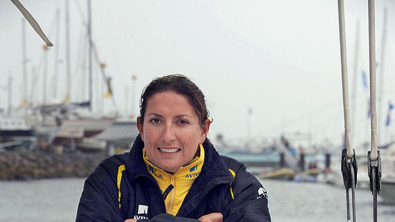 Dee Caffari is getting ready for her sixth round-the-world race