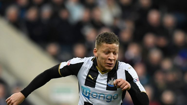 Dwight Gayle scored 23 goals in the Championship for Newcastle United