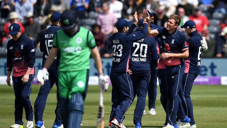 Five-star Rashid strikes as Ireland collapse