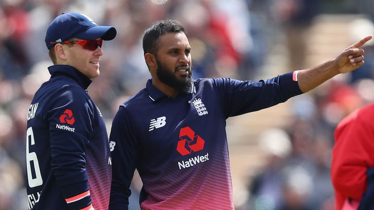 Adil Rashid bounced back from being dropped in England's opening game