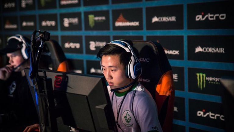 """Youngster Jakob """"JuGi"""" Hansen and his Heroic side will look to upset the odds in Tours (credit Dreamhack)"""