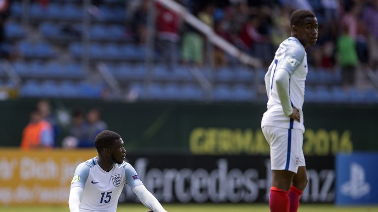 Fikayo Tomori Scored An Unfortunate Own Goal As England Us Were Denied Victory Against Guinea