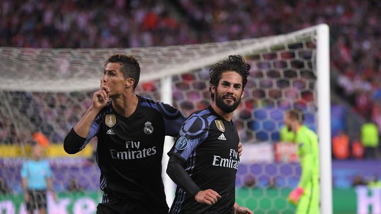 Ronaldo silences the home crowd after Isco's strike