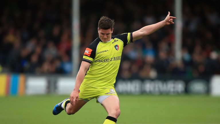 Freddie Burns was on song with the boot for Leicester