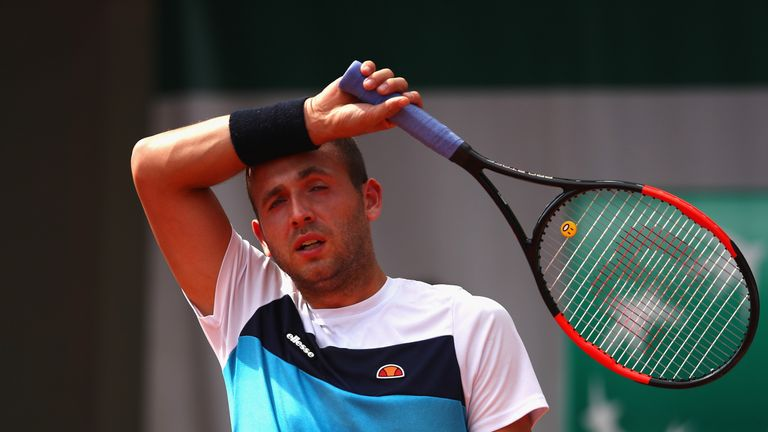 French Open 2017: Dan Evans looks to grass campaign after defeat