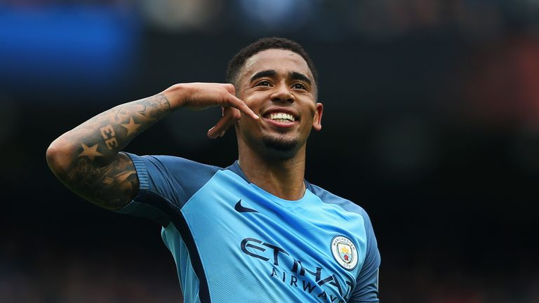 Gabriel Jesus enjoyed an excellent debut season for Manchester City