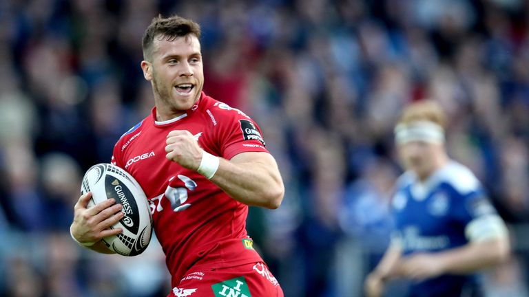 Gareth Davies joins the Lions squad