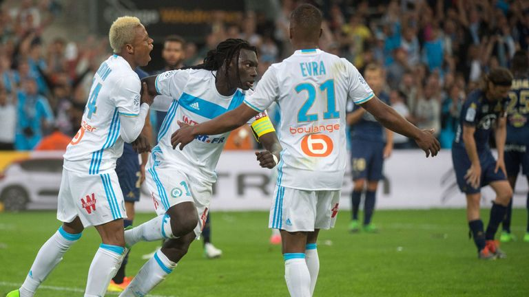 Bafetimbi Gomis' winner secured Marseille's spot in next season's Europa League