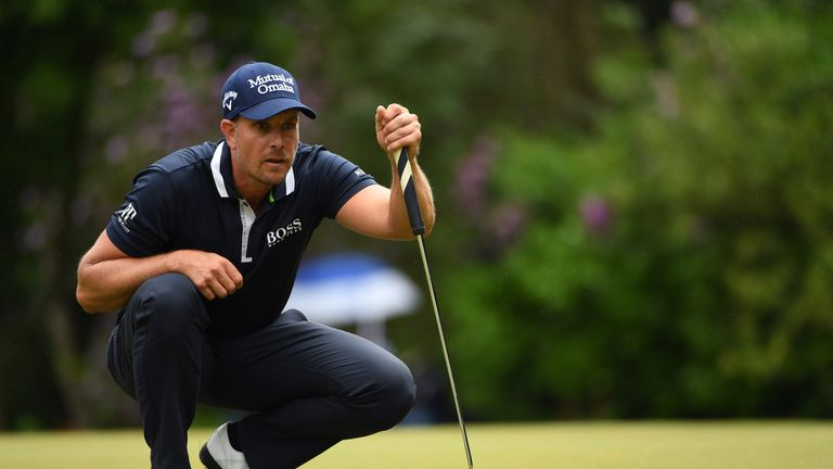 Stenson finished in a share of third spot