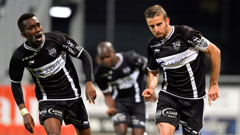 Everton sign forward henry onyekuru from eupen on five - Belgium jupiler pro league table ...