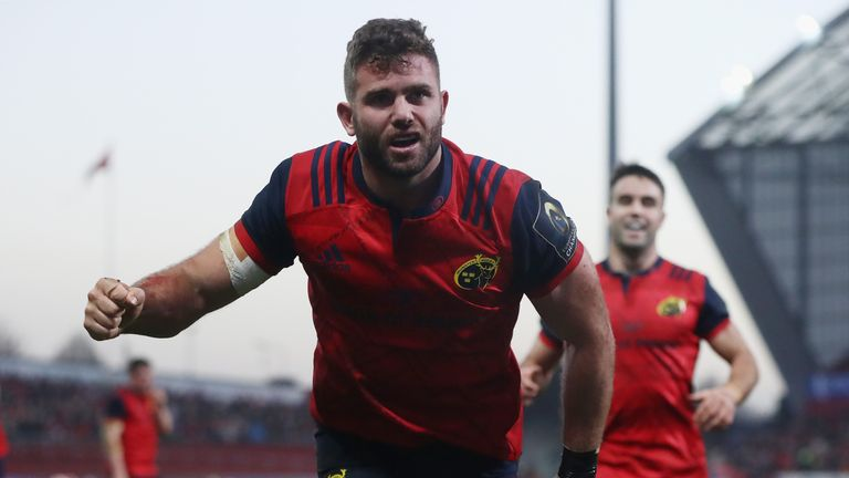 Jaco Taute has signed a new two-year deal with Munster