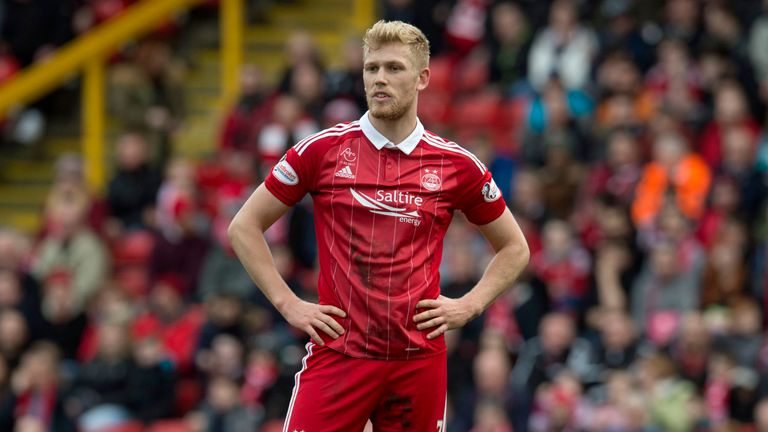 Jayden Stockley has scored six goals for Aberdeen this season in 36 appearances
