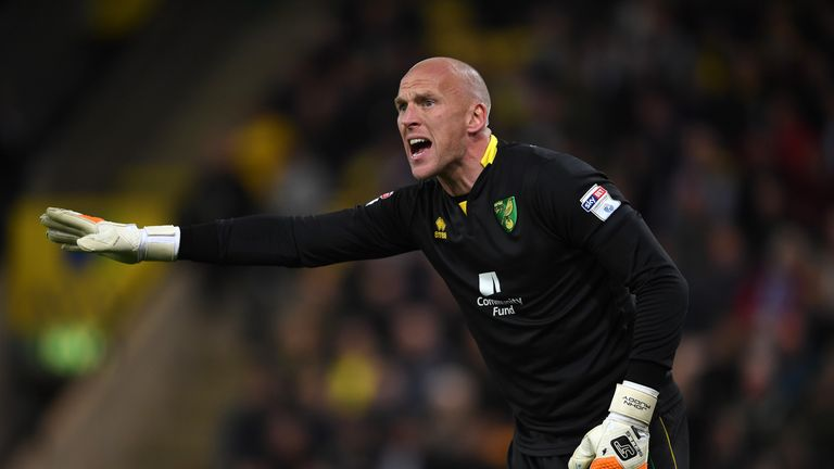 John Ruddy spent seven seasons at Norwich City