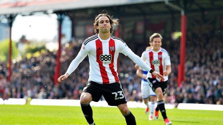 Brentford forward Jota is about to enter the final year of his contract