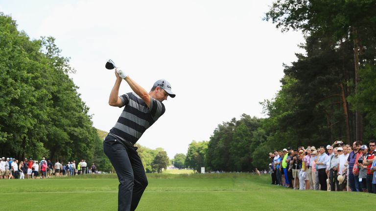 Justin Rose made a steady start in his first UK event as Olympic champion