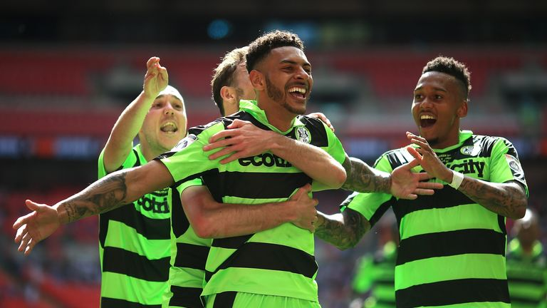 Forest Green are making their debut in the Sky Bet EFL