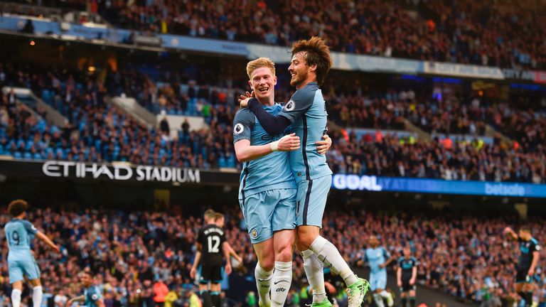 Kevin De Bruyne and David Silva are the men who make it happen at Man City