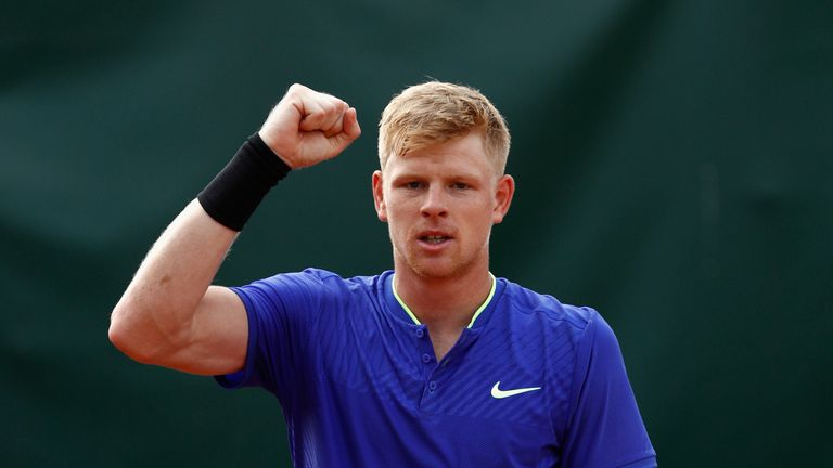 Kyle Edmund's French Open campaign at an end