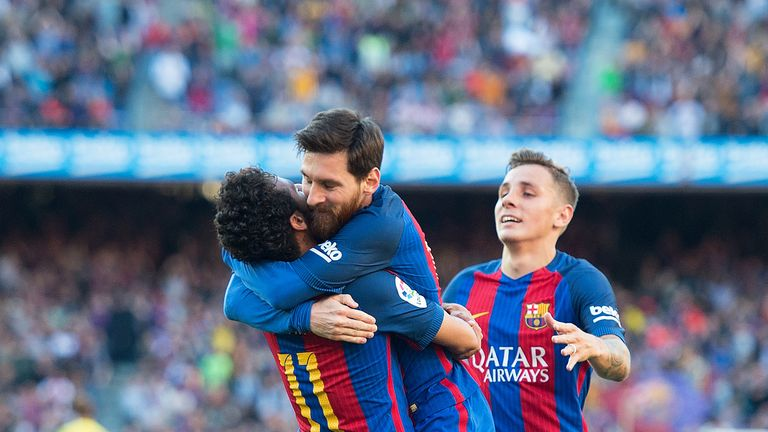 Neymar called Lionel Messi the 'best athlete' he had ever seen in his life